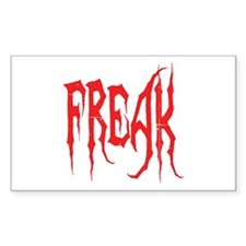 Freak Rectangle Decal