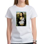 Mona / Fr Bulldog (f) Women's T-Shirt