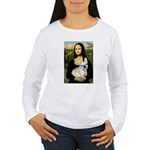Mona / Fr Bulldog (f) Women's Long Sleeve T-Shirt