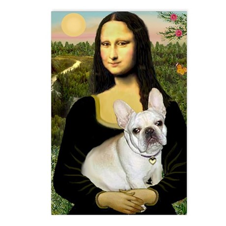 Mona / Fr Bulldog (f) Postcards (Package of 8)