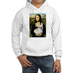 Mona / Fr Bulldog (f) Hooded Sweatshirt