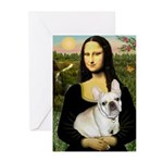 Mona / Fr Bulldog (f) Greeting Cards (Pk of 20)