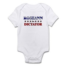 ROSEANN for dictator Infant Bodysuit
