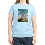 Umbrella /Fr Bulldog (f) Women's Light T-Shirt
