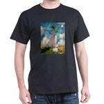 Umbrella /Fr Bulldog (f) Dark T-Shirt