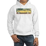 Yellow Studebaker on Hooded Sweatshirt
