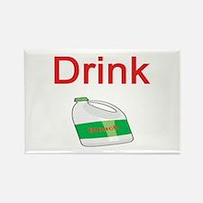 Drink Bleach Rectangle Magnet
