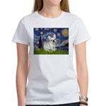 Starry / Fr Bulldog (f) Women's T-Shirt
