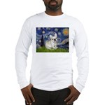 Starry / Fr Bulldog (f) Long Sleeve T-Shirt