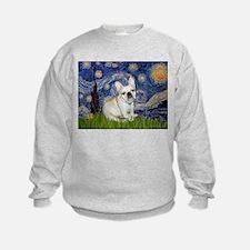 Starry / Fr Bulldog (f) Sweatshirt