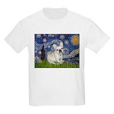 Starry / Fr Bulldog (f) T-Shirt