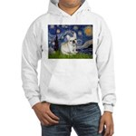 Starry / Fr Bulldog (f) Hooded Sweatshirt