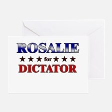 ROSALIE for dictator Greeting Card