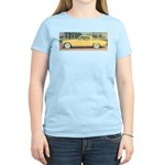 Yellow Studebaker on Women's Light T-Shirt