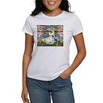 Lilies / Fr Bulldog (f) Women's T-Shirt