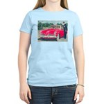 Red Studebaker on Women's Light T-Shirt