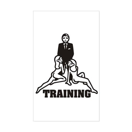 Training Rectangle Sticker