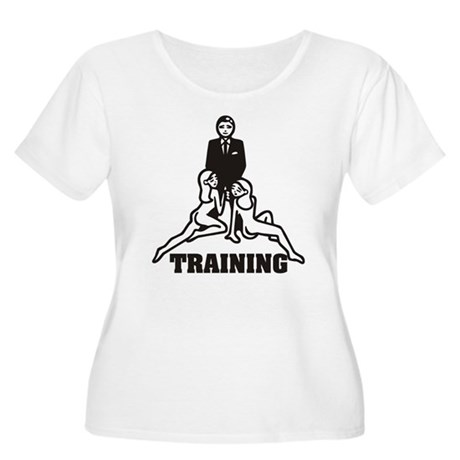 Training Women's Plus Size Scoop Neck T-Shirt