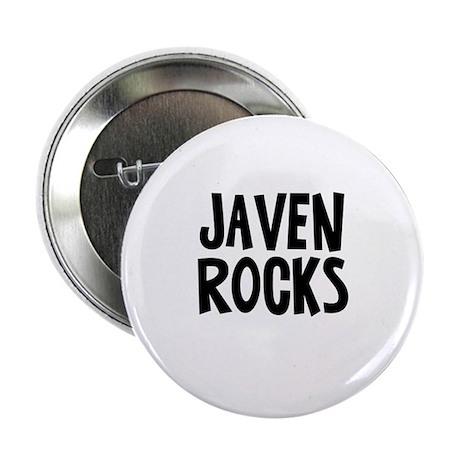 """Javen Rocks 2.25"""" Button"""