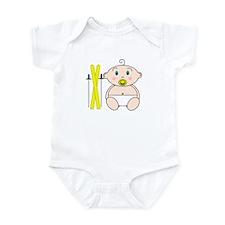 Skiing Baby Infant Bodysuit