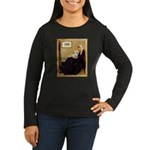 Whistlers / Fr Bull (f) Women's Long Sleeve Dark T