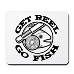 Get Reel Go Fish Mousepad