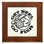 Get Reel Go Fish Framed Tile