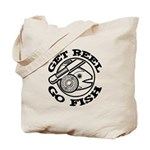 Get Reel Go Fish Tote Bag
