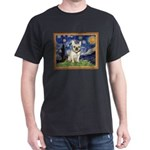 Starry/French Bulldog Dark T-Shirt