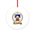 GALLANT Family Crest Ornament (Round)