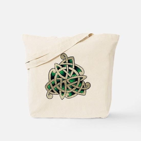 Emerald Knot Tote Bag