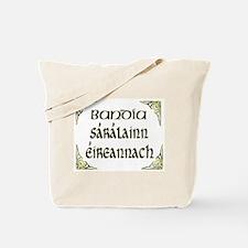 'Gorgeous Irish Goddess' Tote Bag