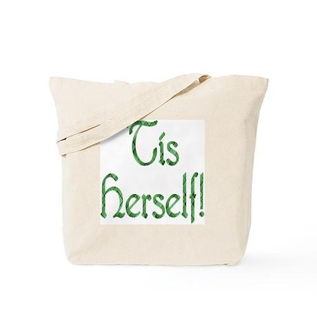 'Tis Herself' Tote Bag