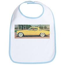 Yellow Studebaker on Bib