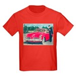 Red Studebaker on Kids Dark T-Shirt