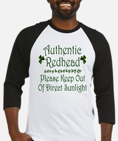 Authentic Redhead Baseball Jersey