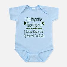 Authentic Redhead Infant Bodysuit