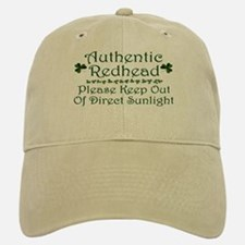 Authentic Redhead Baseball Baseball Cap