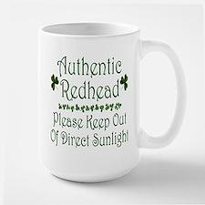 Authentic Redhead Large Mug