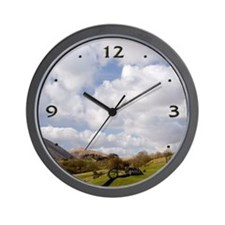 Yorkshire Dales Hills & Sky Wall Clock