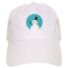 Hello Snowman Baseball Cap