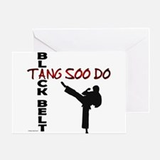 Tang Soo Do Black Belt 2 Greeting Cards (Package o
