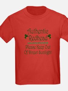 Authentic Redhead T