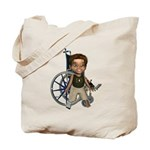 Karlo Broken Right Leg Tote Bag