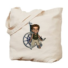 Karlo Broken Right Leg Tote Bag