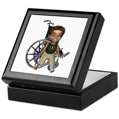 Karlo Broken Left Leg Keepsake Box
