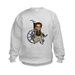 Karlo Broken Left Leg Sweatshirt