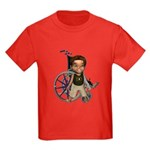 Karlo Broken Left Arm Kids Dark T-Shirt
