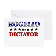 ROGELIO for dictator Greeting Card