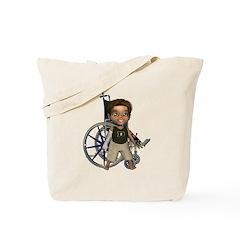 Karlo Broken Right Arm Tote Bag